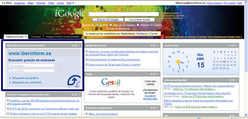 Gadget google